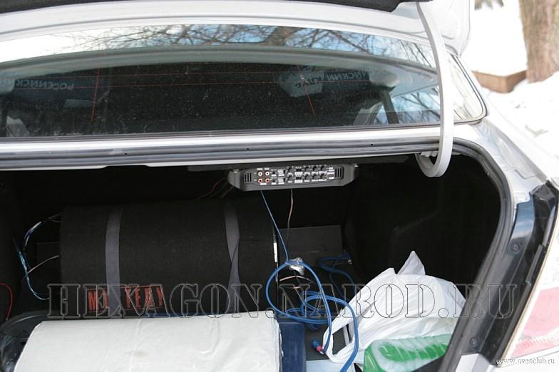 Распиновка штатной магнитолы Chevrolet